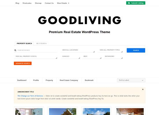 GoodLiving WordPress Theme by ColorLabs & Company