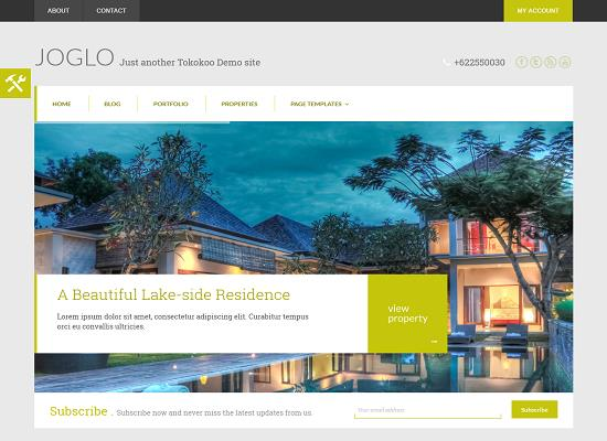Joglo WordPress Theme by Tokokoo