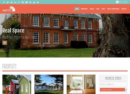 RealSpace WordPress Theme by Mojo Themes