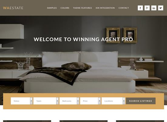 Winning Agent Pro Genesis Theme by StudioPress