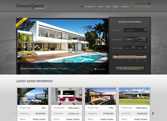 HomeQuest WordPress Theme by ThemeFuse