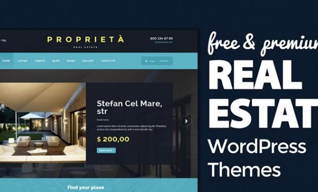 37+ Free & Premium Real Estate WordPress Themes