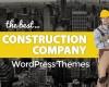7+ Free & Premium Construction Company WordPress Themes