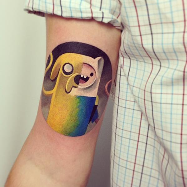 Abstract Watercolor Tattoo by Sasha Unisex