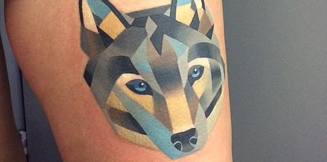 Sasha Unisex Watercolor Tattoos